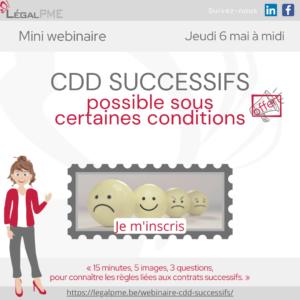 CDD Successifs