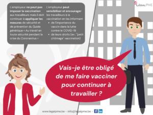 Vaccination et obligation employeur