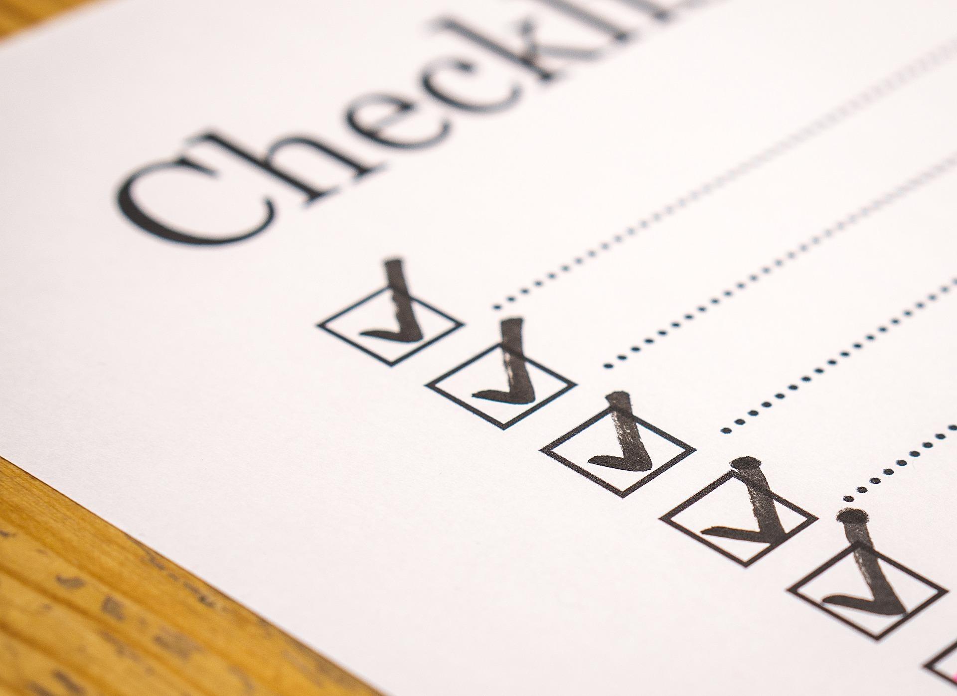 Check-list GDPR : Vérification de la conformité de l'entreprise en 10 étapes